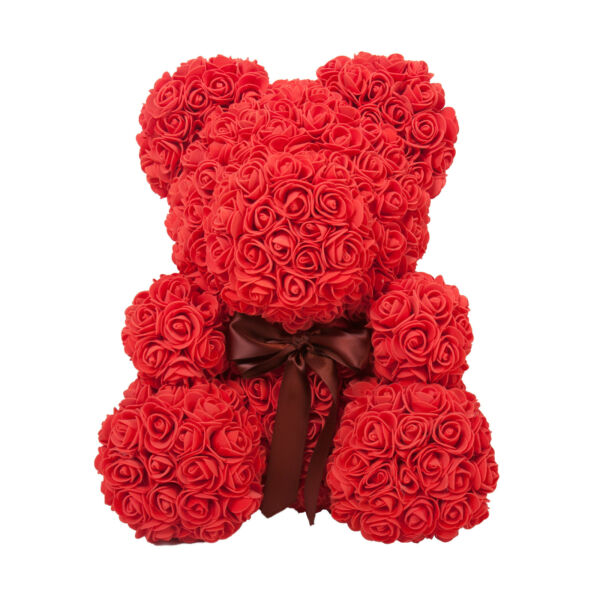 Forever Rose Teddy Bear, Flower Rose Teddy Bear Wife Girlfriend Anniversary Gift