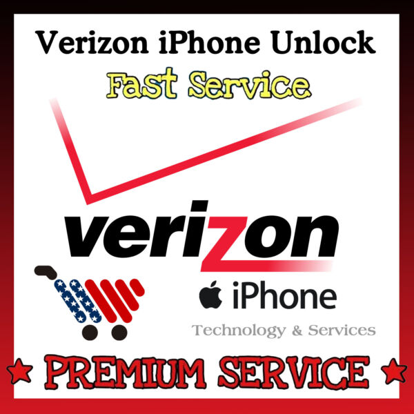 FACTORY UNLOCK CODE✅VERIZON✅iPhone 7 6 6+ 6S SE 5 5S ✅PREMIUM ALL MODELS