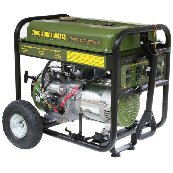 Sportsman GEN7000 7000 Gasoline Watt Generator Includes Wheel Kit