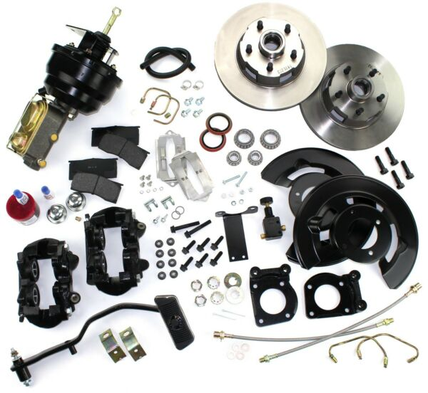 1967 1968 1969 MUSTANG FRONT DISC BRAKE CONVERSION KIT POWER AUTOMATIC TRANS. V8