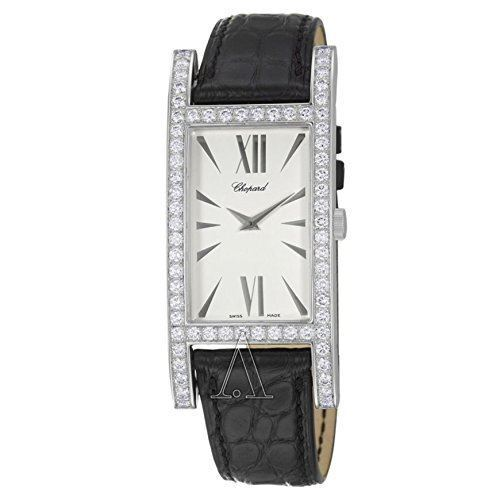 Chopard Classique 18K White Gold 3.14 ctw Diamonds Men's Watch 173562-1001