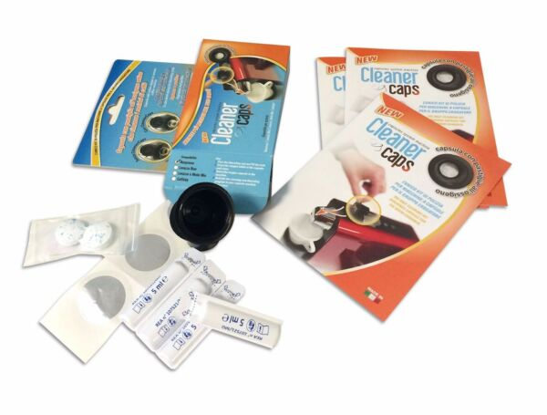 Cleaner Caps kit anti limestone degreasing detergent coffee machine Lavazza Blue