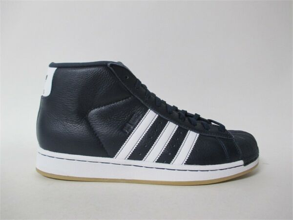 Adidas Pro Model College Navy Blue White Gum Sz 9 BY4171