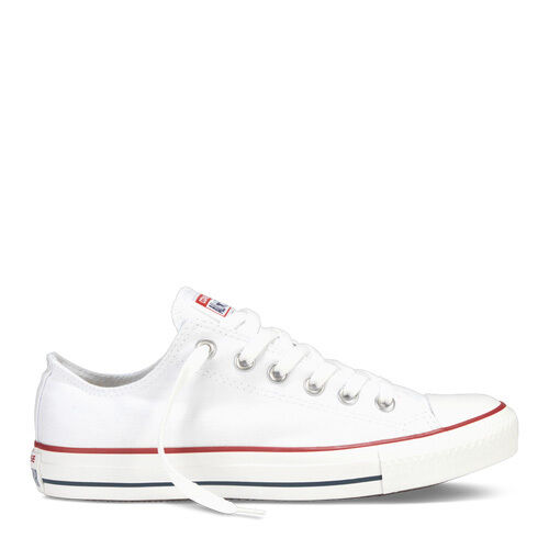 CONVERSE OPTICAL WHITE LOW Top Shoes UNISEX Canvas Sneakers (M7652) (W/O BOX)