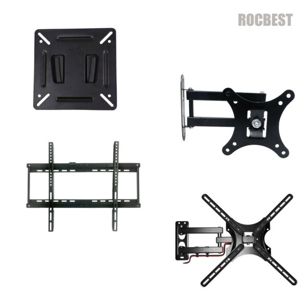 Fixed Tilt Full Motion TV Wall Mount 10 70 Inches 24 32 40 43 49 50 55 58 65 70 $19.89