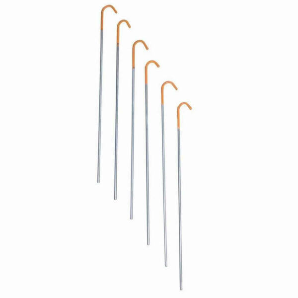 Terra Nova Titanium 1g Tent Skewer Peg Camping Backpacking Accessories 6 Pack