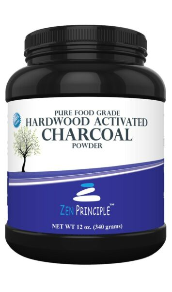 Premium Activated Charcoal Powder from 100% USA Hardwood Trees. Teeth Whitening.