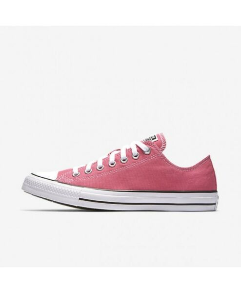 Women Converse Chuck Taylor All Star Low Top Ox, 147141F Sizes 5.5-12 Pink Paper