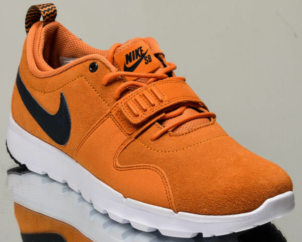 Nike SB Trainerendor Leather men lifestyle casual sneakers sunset SIZE 8.5M