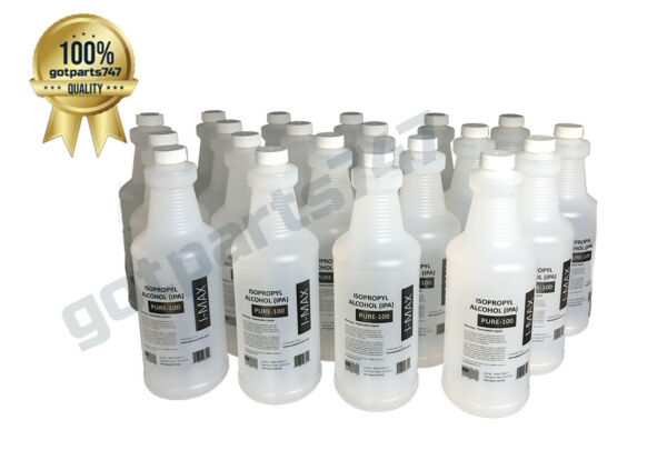 ISOPROPYL ALCOHOL 99+%  PURE100 1 QUART 1 GALLON 2 GALLONS 4 AND 5 GALLONS