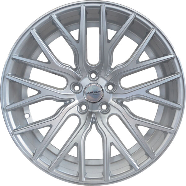 4 GWG Wheels 20 inch STAGGERED Silver FLARE Rims fits MERCEDES S550 (221) 07-13
