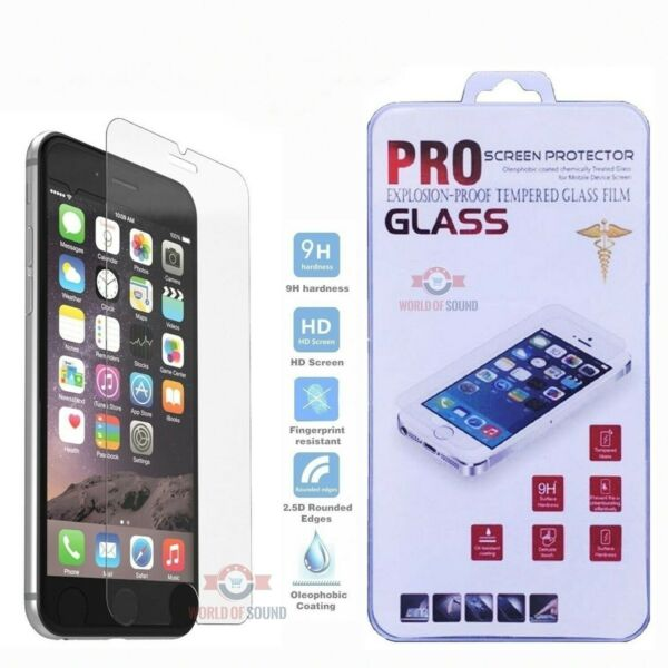 For iPhone 7 Tempered GLASS Screen Protector Bubble Free HD Protective Film USA
