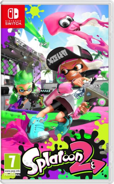 Splatoon 2 (Nintendo Switch, 2017) Brand New