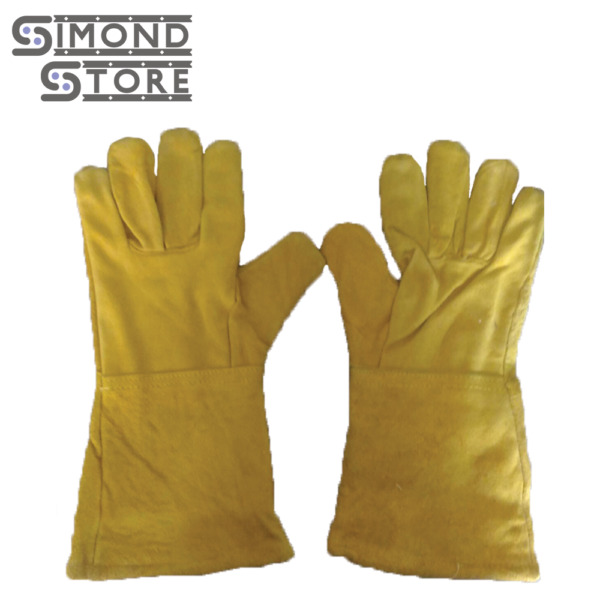 13quot; Heat Resistant Melting Furnace Gloves Refining Casting Gold Silver Copper $15.99