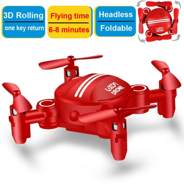 Drone Kids RC Quadcopters Foldable Remote Control Helicopter Flying Airplane