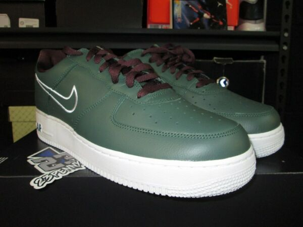 SALE NIKE AIR FORCE 1 LOW RETRO SZ 8-13 HONG KONG FOREST GREEN WHITE 845053 300