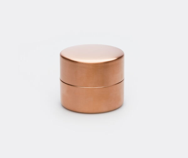 Azmaya Copper Japanese Tea Caddy For Loose-Leaf & Coffee Beans - Small