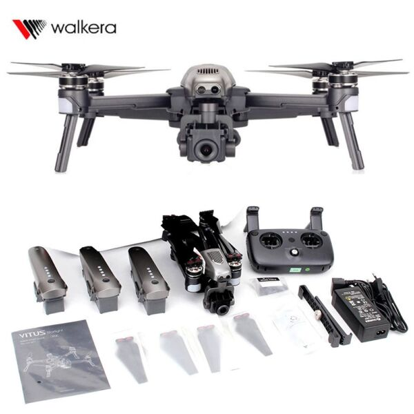Walkera Vitus 320 Starlight night vision folding drone 3 batteries Combo 1