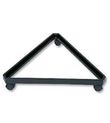 Gridwall Grid Wall Triangle Triangler Display Base Casters Rolling Black 24