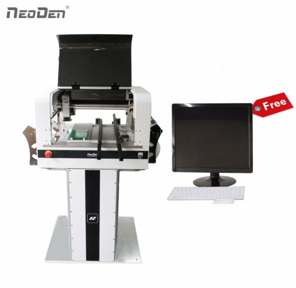 NeoDen4 Pick and Place Machine Vision System 34 Electric Feeders Free Monitor $9258.00