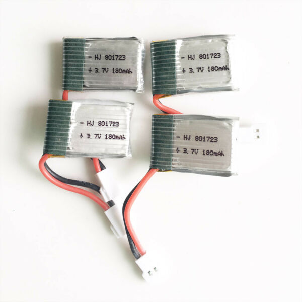 4 x 180mAh 20C rechargeable RC Drone battery F X5 Quadcopter Helicopters 751723