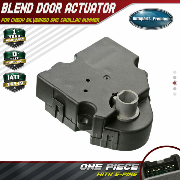 HVAC Heater Blend Air Door Actuator for GMC Sierra 1500 2500 3500 Classic 03-06