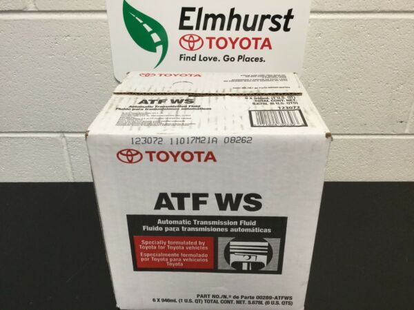 Toyota Lexus WS Automatic Transmission Fluid QTY 6 (6 Quart package) Genuine OEM