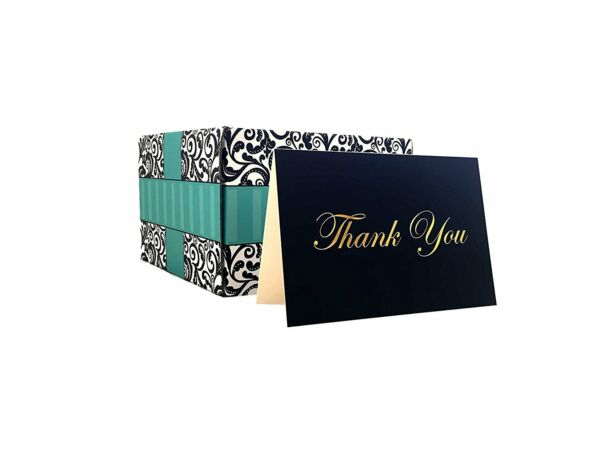 100 Thank You Cards Bulk Thank You Cards Premium Boxed Set