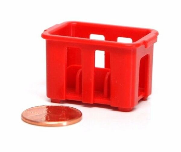 Playmobil Supermarket Grocery Store Dollhouse Red Soda Bottle Crate