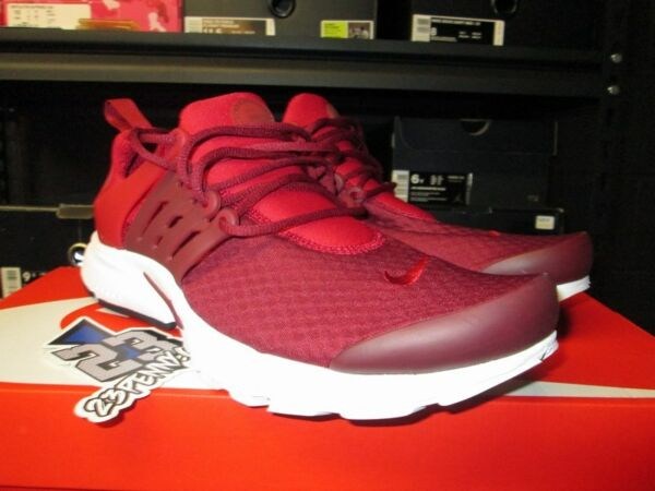 SALE NIKE AIR PRESTO ESSENTIAL GYM RED TEAM RED WHITE SZ 8-14 NEW 848187 604
