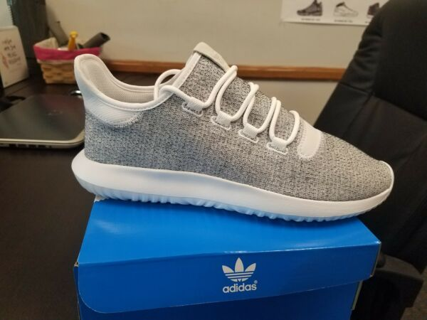 Brand New ADIDAS Mens Originals Tubular Shadow CQ0928  WHITE GREY