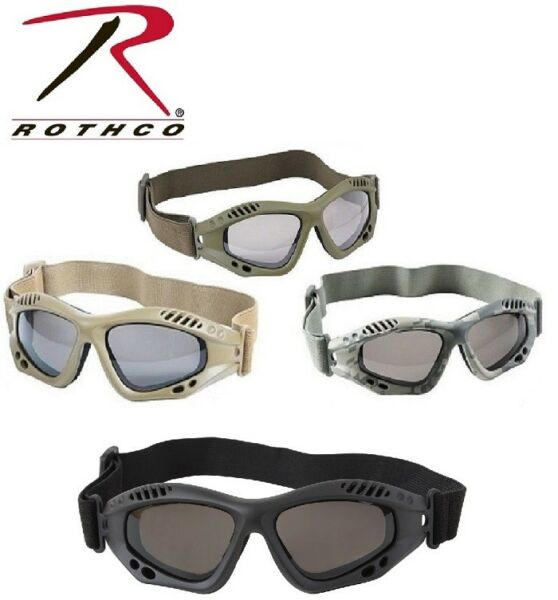 Tactical Goggles Military Goggles Vented Anti-Fog Enhanced 10377 10376