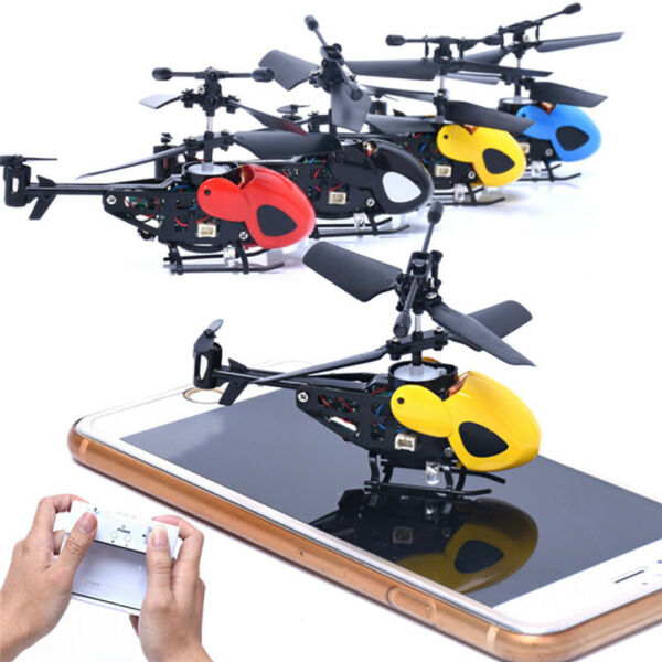 3.5CH Mini IR Infrared Remote Control RC Drone Helicopter W/Gyroscope Toy Gift