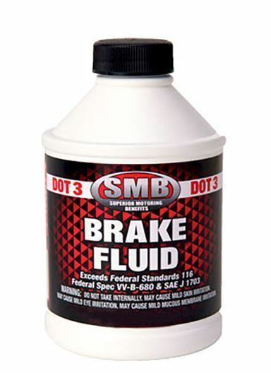 SMB OEM Brake Fluid Bottle Ounces oz.6 08798-9008 DOT 3 Ounce