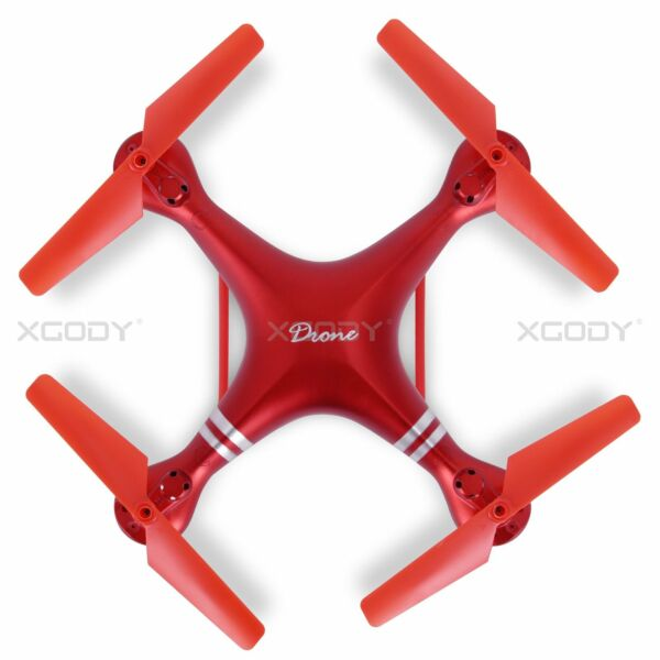 2.4GHz 4CH 6-Axis 360 Degree Flips UAV RC Quadcopter Headless Mode Drone Toy