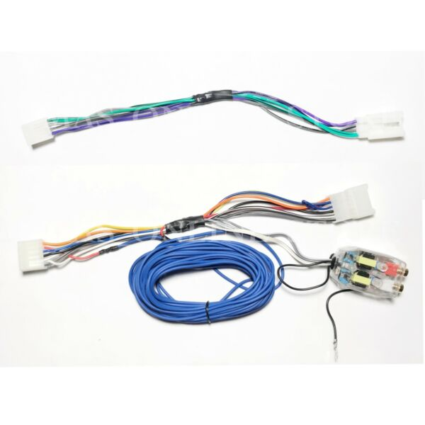 Factory Radio Plug and Play Amp Sub Add-on Wire Line Out Converter For *Toyota*