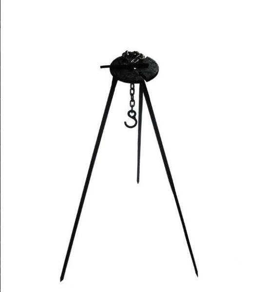 Tripod Portable Outdoor Camping Campfire Grill Hanger Cooking Picnic Pot Holder