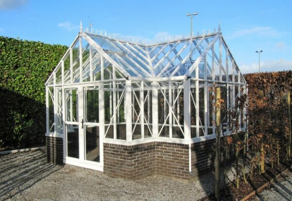Royal Victorian Antique Orangerie Glass Greenhouse