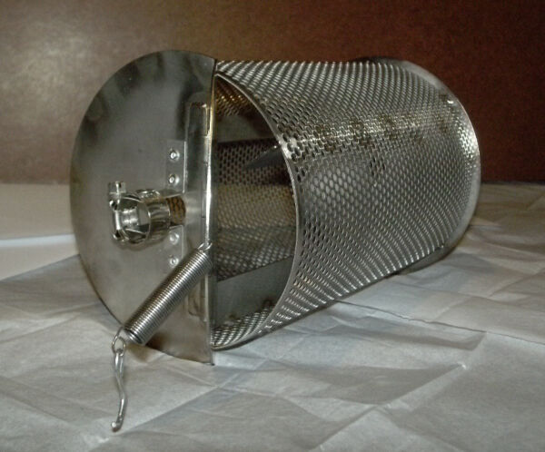 1 Lb Capacity Home Coffee Roaster Drum for Bbq Grill Peanut Chile Cacao