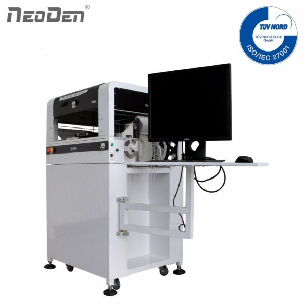 NeoDen SMD Pick and Place Machine with Vision System 4 Heads 39 Electric Feeders $9944.00