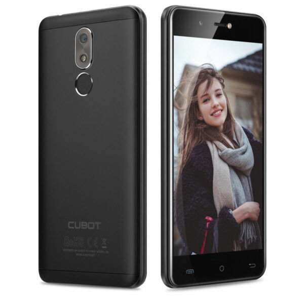 Cubot R9 Finger Scanner Smartphone Android 13MP 3G 2GB+16GB Dual SIM Handy 5.0''