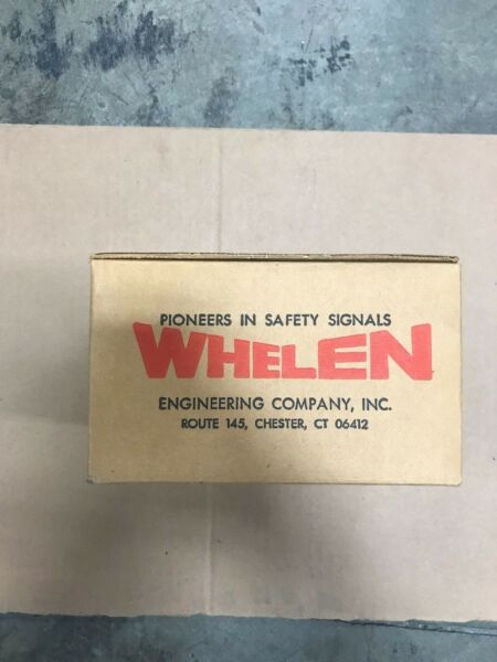 New Genuine Whelen Mighty Stop Tail amp; Turn Signal 01 0681597 RR
