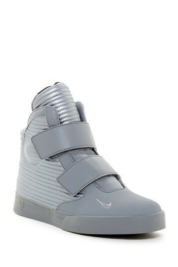Nike Men's Flystepper 2K3 HighTop Sneakers Size 11.5 Metallic Grey