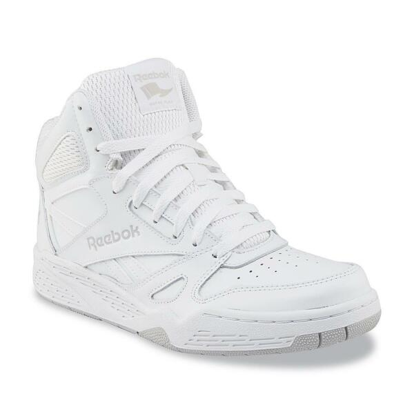 New Mens Reebok Royal BB4500 Extra Wide White High-Top Leather Basketball Shoe
