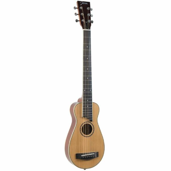 New Johnson JG-TR3 Trailblazer Acoustic Travel Guitar w Gig Bag + Ships Free