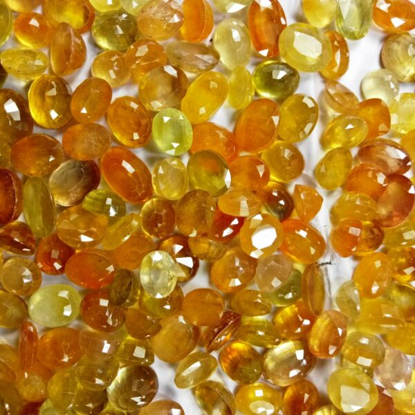 Natural African Yellow Sapphire Best Premium Quality Wholesale Lot Gem Video