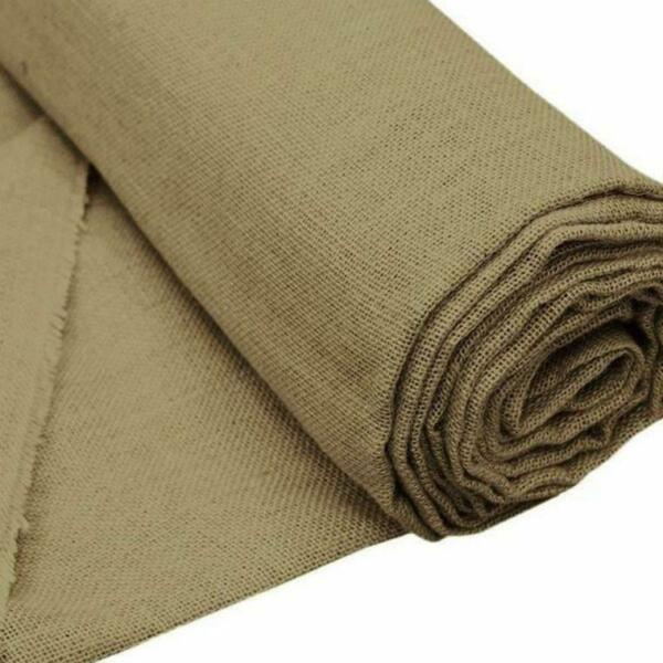 60quot; x 10 yards Natural Brown Burlap Fabric Bolt Wedding Party Crafts Sewing SALE