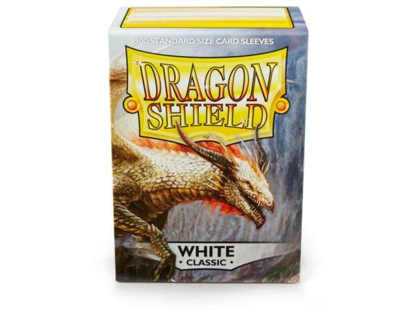 Classic White 100ct Dragon Shield Sleeves Standard Size FREE SHIPPING 10% OFF 2 $8.85