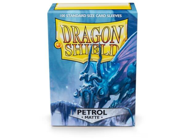 Matte Petrol 100 ct Dragon Shield Sleeves Standard Size FREE SHIPPING 10% OFF 2 $9.10