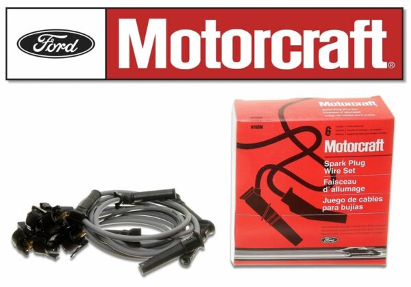 MOTORCRAFT WR6096 Spark Plug Wire Kit Set for Explorer Mountaineer V6 4.0L SOHC